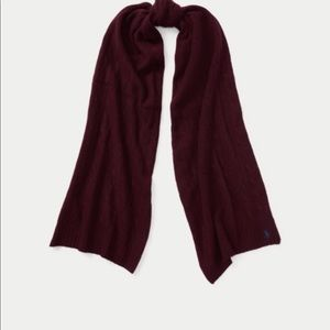 Ralph Lauren wool & cashmere scarf with tags